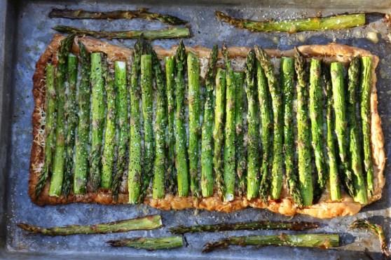 asparagus tart 1