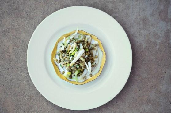 green lentil salad 2