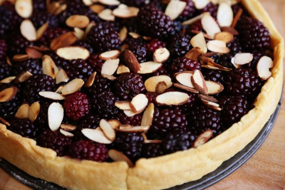 Blackberry Tart with Cornmeal Crust