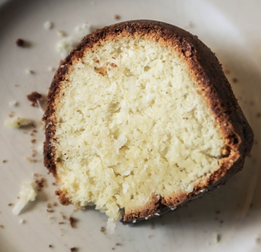 Coconut Cream Cheese Pound Cake | The Family Meal