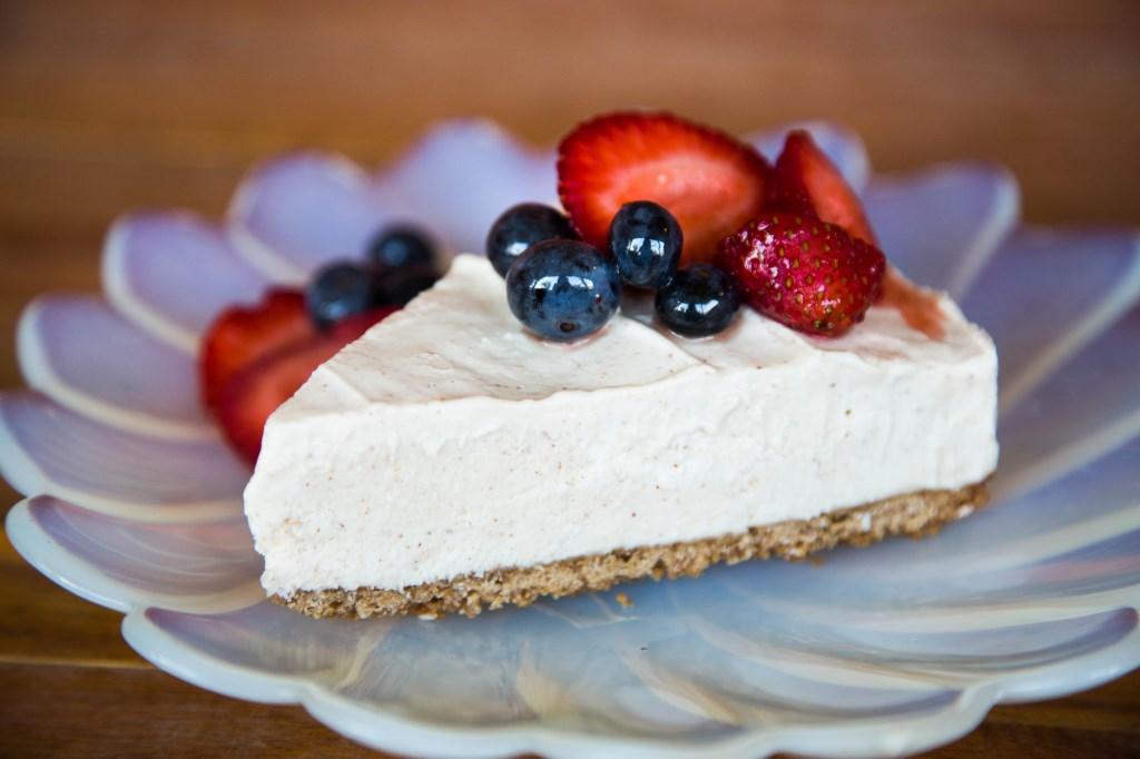 Yogurt Cream Cheese Cake Recipe