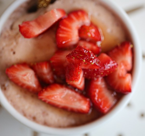 Strawberry Cream Pots
