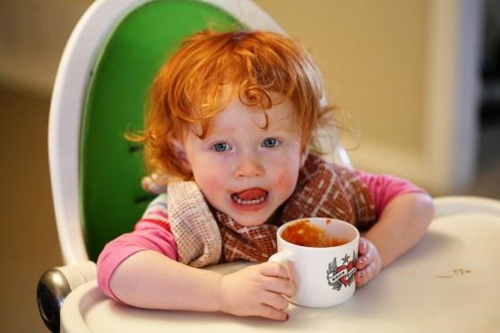 tomato soup face