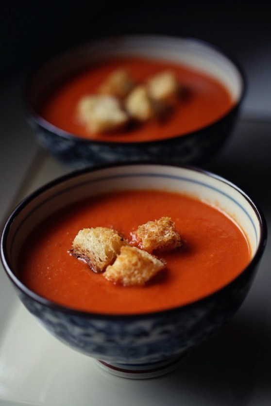 tomato soup for a cold day