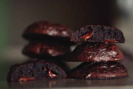 Double Chocolate Flourless Cookies