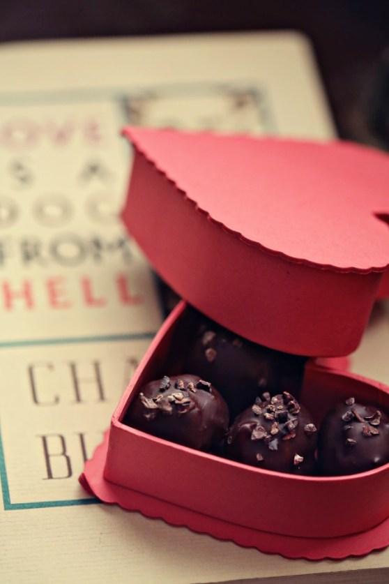 Dark Chocolate Whiskey Truffles