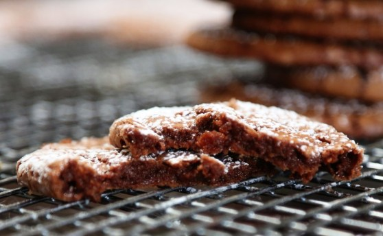 Chewy Mexican Chocolate Cookies