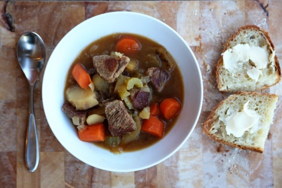 Irish Stew with Country Bread