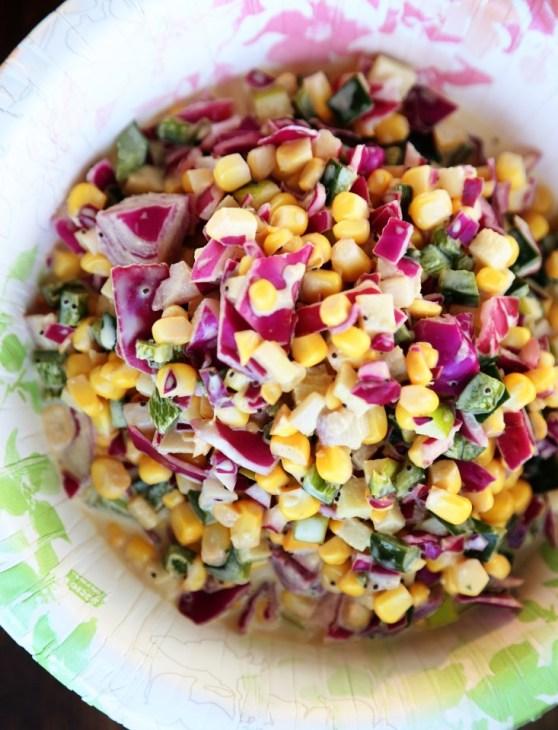 Crunchy Corn Slaw