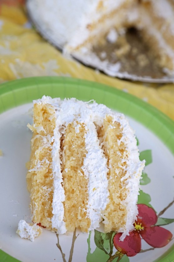 Keller's Coconut Cake