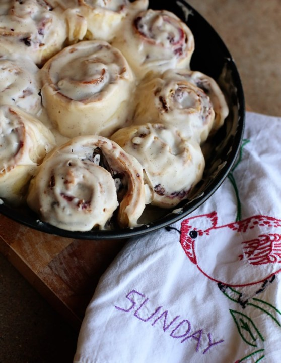 Blackberry Lime Cinnamon Rolls