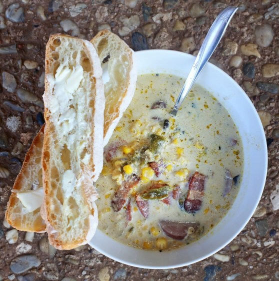 Green Chile and Corn Chowder | The Family Meal