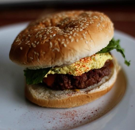 Deviled Egg Burgers 2
