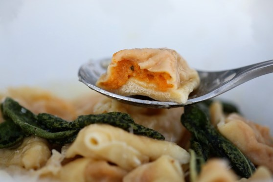 sweet potato tortellini