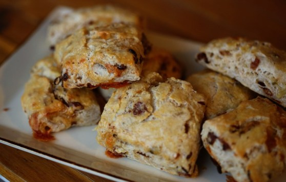 Bacon and Blue Cheese Scones