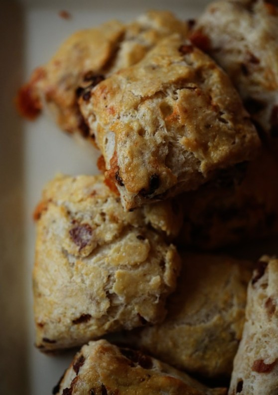 bacon blue cheese scones
