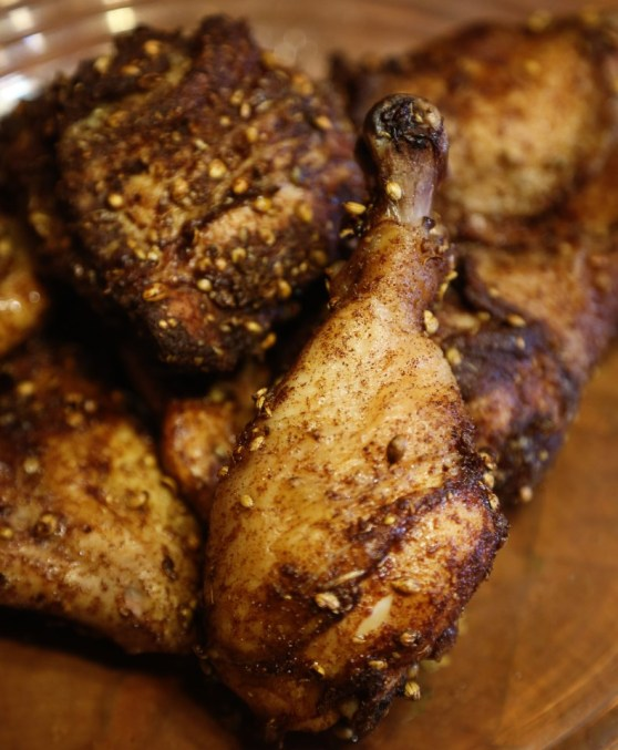 Cinnamon Coriander Roast Chicken
