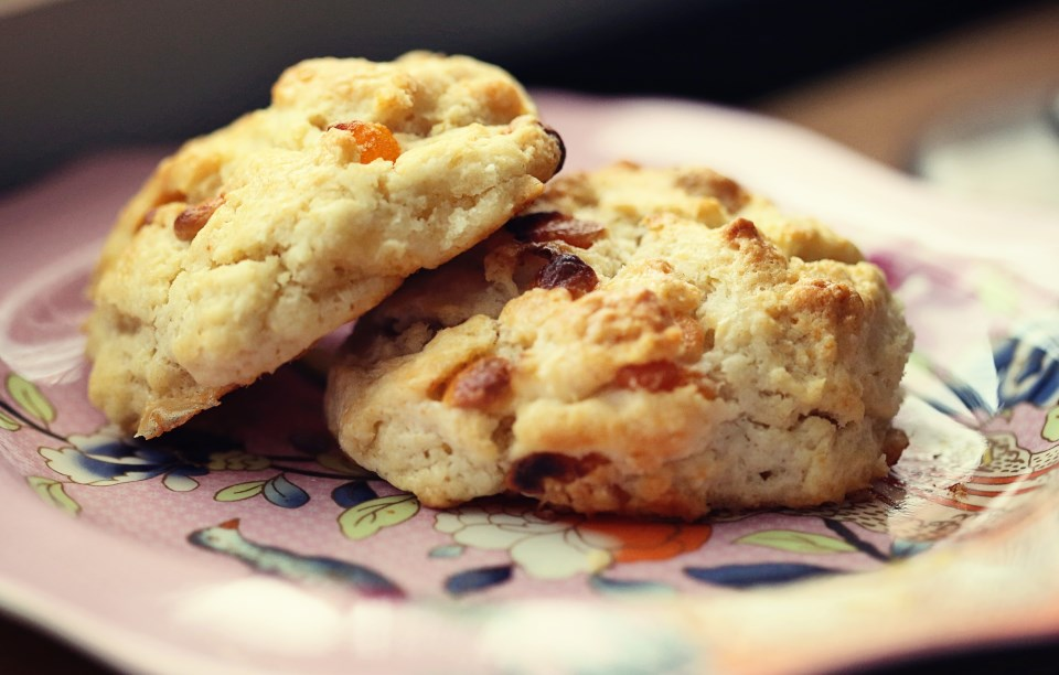 Apricot Cream Scones | The Family Meal