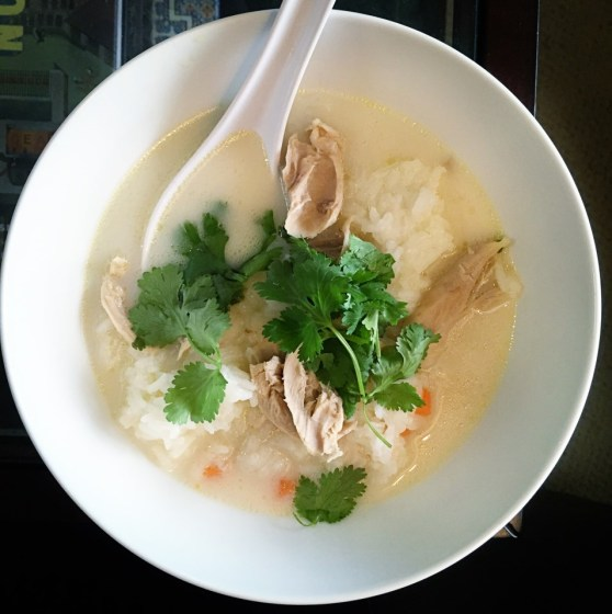 Chinese Chicken and Rice Soup