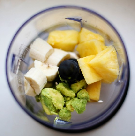Banana Avocado Pineapple Yogurt