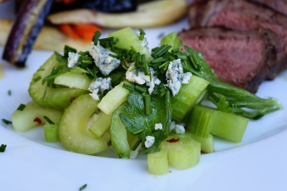 Blue Cheese Celery Salad