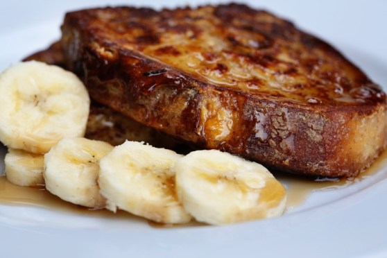 Country Bread French Toast with Bananas