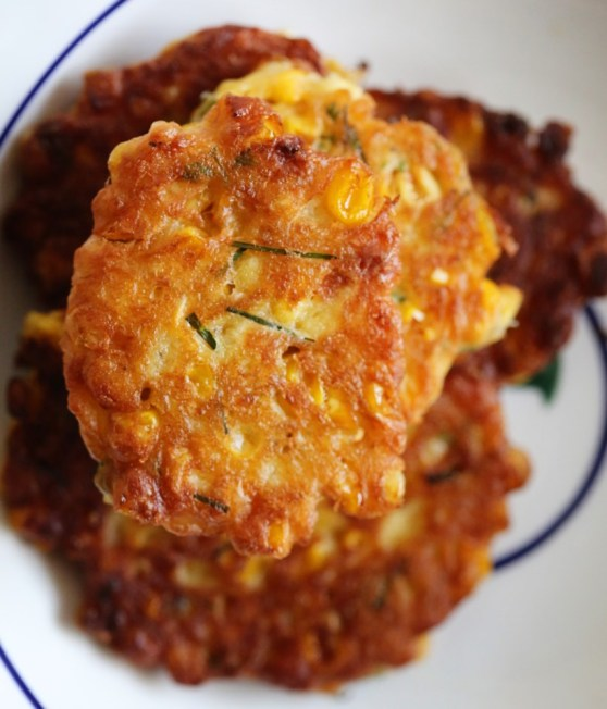 Curry Corn Fritter
