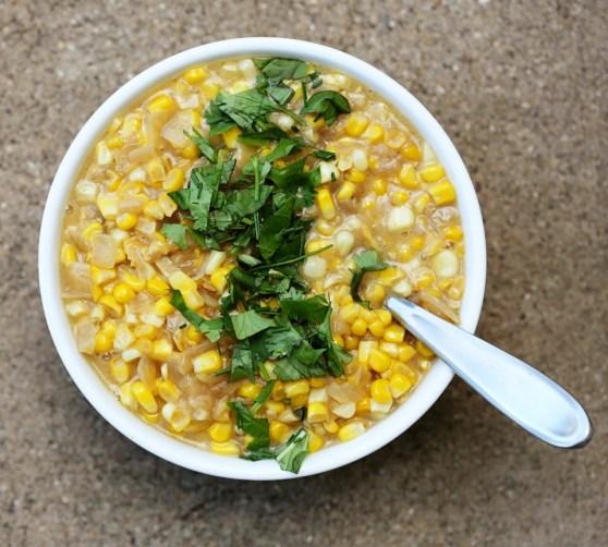 Curry Cream Corn