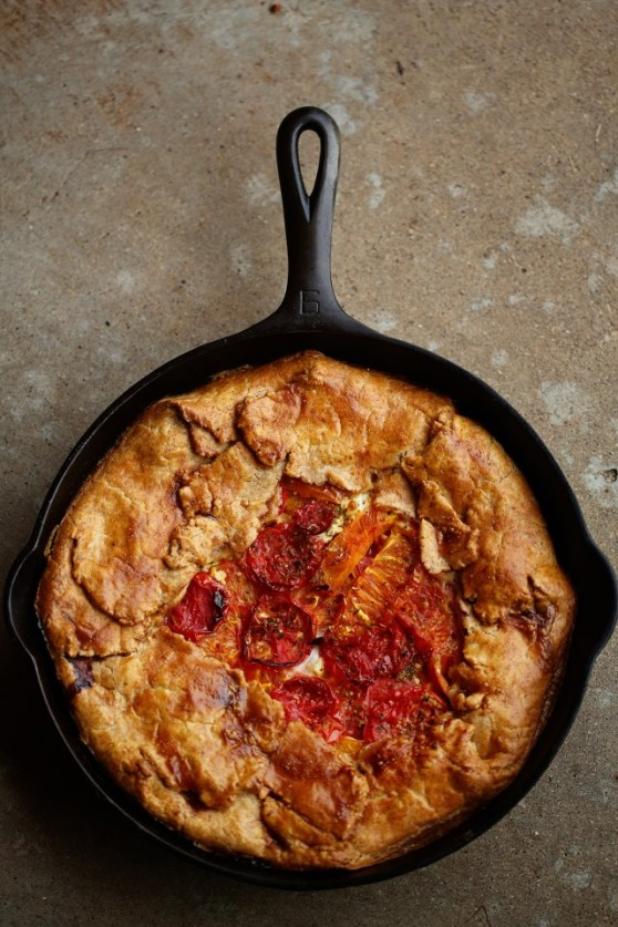 Deep Dish Tomato Pie