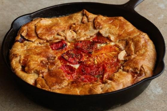 Rustic Deep Dish Tomato Pie