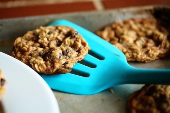 Cherry Chocolate Chip Oatmeal Cookies 3
