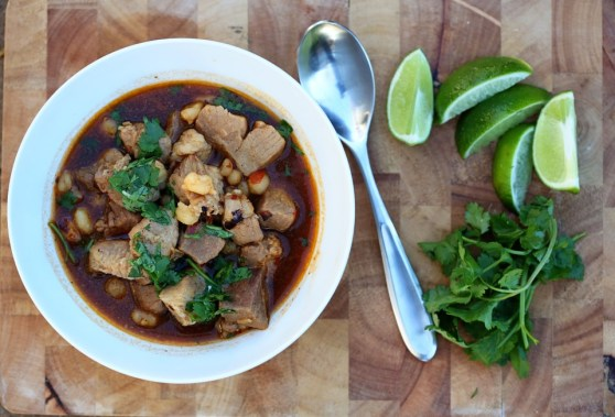 Pork Posole from scratch
